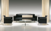 contemporary commercial leather sofa VERO by Christian Biecher BERNHARD design