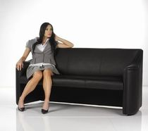 contemporary commercial leather sofa LEATHER SOFA AFI Group