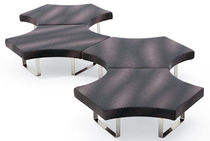 contemporary commercial modular bench HIGHWAY M by Bartoli Design SEGIS