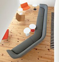 contemporary commercial modular sofa LOOP by Lievore Altherr Molina Arper