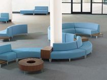 contemporary commercial modular upholstered bench CIRCA  nurture