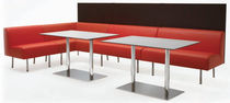 contemporary commercial modular upholstered bench TER MINUS by C.Bimbi Design SEGIS
