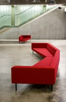 contemporary commercial modular upholstered bench GRAND CANYON by Timo Ripatti PIIROINEN