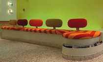 contemporary commercial upholstered bench BENETTON ESSEMME