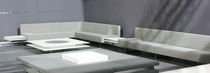 contemporary commercial upholstered bench STRATOS MOHDO