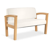 contemporary commercial upholstered bench RAVE™ nurture