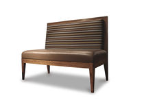 contemporary commercial upholstered bench NOVECENTO Costantini Design