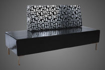 contemporary commercial upholstered bench GIZA BL012 GIGLI MEGLIO