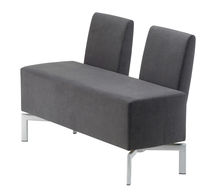 contemporary commercial upholstered bench AVENUE 6 Selka-line Oy