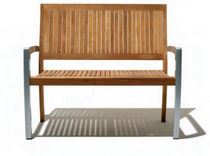 contemporary commercial wooden bench ANDROMEDA  Schoenhuber Franchi