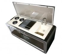 contemporary compact kitchen COOK J. Corradi