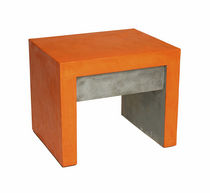 contemporary concrete bed-side table URIEL Variations U