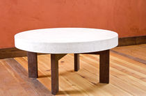 contemporary concrete coffee table  Get Real Surfaces