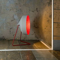 contemporary concrete floor lamp Cyrcus F Cemento in-es artdesign