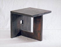 contemporary concrete stool CUBE I COMPACT CONCRETE