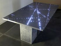 contemporary concrete table FLIGHT &quot;LINES&quot; COMPACT CONCRETE