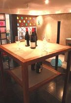contemporary concrete table DEGUSTATION ROUVIERE