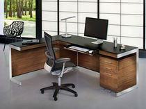 contemporary corner office desk SEQUEL&reg; RETURN by Matthew Weatherly  Becker Designed, Inc.