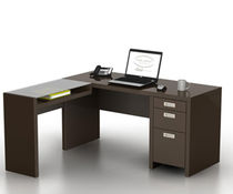 contemporary corner office desk NEW YORK SKYLINE BUSH INDUSTRIES