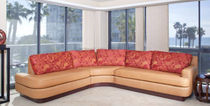 contemporary corner sofa in recycled fabric CORONADO LauraBirnsDesign Eco-Furnishings, LLC