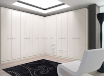 contemporary corner wardrobe TLS.25  Limba