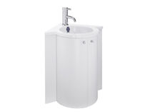 contemporary corner washbasin cabinet SAM MINI ROC Sam Vertriebs