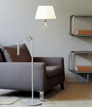 contemporary cotton floor lamp (adjustable arm) GALILEA by Pascual Salvador Carpyen,