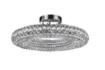 contemporary crystal ceiling lamp ORIA Illuminati Lighting srl