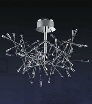 contemporary crystal pendant lamp KRIS KROS 9 UNITED LIGHTS