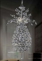 contemporary crystal pendant lamp PINEAPPLE 9 UNITED LIGHTS