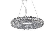 contemporary crystal pendant lamp ORIA Illuminati Lighting srl