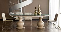 contemporary crystal table GIANNI CR/3916 CREAZIONI