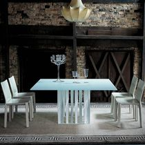 contemporary crystal table 475 BOBOLI by Rodolfo Dordoni Cassina