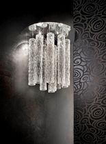 contemporary crystal wall light APL TUBI Turina Design srl