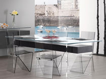 contemporary dining table ÔSMOS by Erwan Péron TurriniBY
