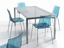 contemporary dining table LOGIC Cancio S.A.