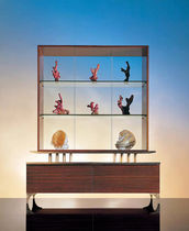 contemporary display case SC 1002 OAK DESIGN