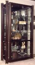 contemporary display case ALLEGRO LEDA Furniture