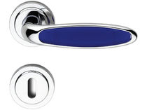 contemporary door handle DIANA M4/BLU BRC DI ROSSETTI