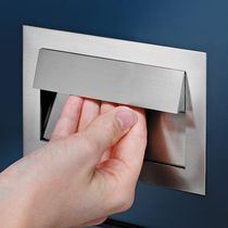 contemporary door handle FLUSH HANDLE, SOFT CLOSE    Häfele GmbH & Co KG