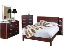 contemporary double bed FUSION LEDA Furniture