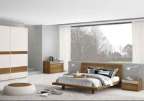 contemporary double bed SLIM mazzali spa