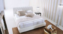 contemporary double bed DUBLINO Valmori