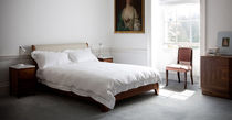 contemporary double bed in certified wood (FSC-certified) EVELYN by Kay+Stemmer BENCHMARK