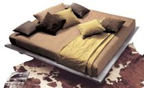 contemporary double bed with casters RING XAM PASSION DESIGN ClassicMobil