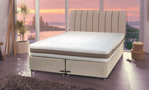 contemporary double bed with casters HARMONIZE : RENAISSANCE Dunlopillo
