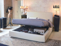contemporary double bed with storage base JEANNINE  noctis