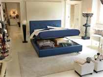 contemporary double bed with storage base CITY L noctis