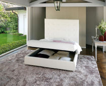 contemporary double bed with storage base CITY XL noctis