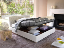 contemporary double bed with storage base DIZZY noctis